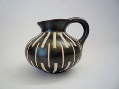 Vintage Round Piesche and Reif Vase 1950 by oppning on Etsy, €46.00