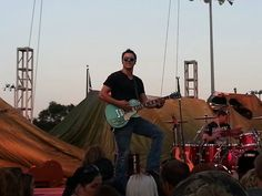 Brushville. I can see these guys going big soon. They opened for Eddie Money at the Urbana Sweet Corn Festival 2014