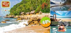 Hotel Lagunita en Yelapa, Jalisco - $724 en lugar de $1,810 por 1 Día & 1 Noche en Habitación con Vista al Mar para 2 Personas + 1 Botella de Vino Espumoso + Kayak Ilimitado. Click: CupoCity.com