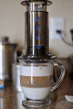 aeropress latte how to make