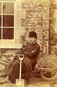 Gertrude Jekyll, garden designer, c.1879