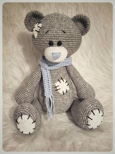 1000+ ideas about Crochet Bear on Pinterest | Thread crochet ...