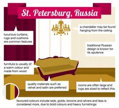 TapiceriaBas3 Modificar descripción ¡13 estilos de diseño de interiores del mundo! ¿Con cual te identificas? TapiceriaBas3 World, Russia, Interior Design, Toss Pillows
