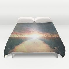 Dreams of dust Duvet Cover by HappyMelvin | Society6