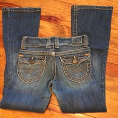 Aeropostale Jeans - Aeropostale Hailey Skinny Flare Size 0 Short