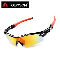 1019 HODGSON Brand Unisex Detachable Professional Cycling Sunglasses Set Men's Outdoor Polarized Bicycle Glasses Sports Eyewear