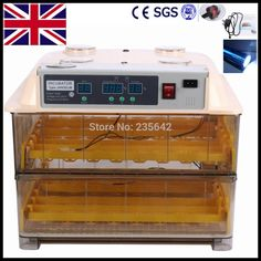 168.96$  Watch now - http://ali0ov.worldwells.pw/go.php?t=32793987393 - Brand New Fully Automatic 96 egg incubator small egg incubator for sale 168.96$