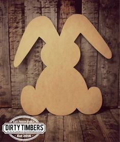 Exclusive To Dirty Timbers Customers>>> ✪ Buy 5 Get 1 Free Of Equal Or Lesser Value. Bunny Crafts, Easter Crafts, Holiday Crafts, Crafts For Kids, Diy Crafts, Easter Decor, Easter Ideas, Wood Craft Supplies, Bunny Templates