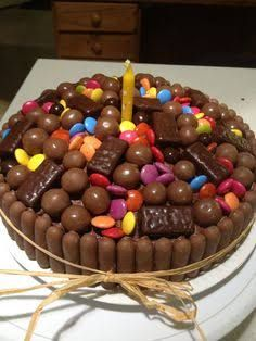 Image result for chocolate lolly cake