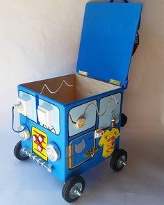 67 отметок «Нравится», 5 комментариев — Развивающие игрушки, бизикубы❤ (@busypuz) в Instagram: «Вот какая бизимашина получилась по спецзаказу с усиленными колесами на осях в машине можно…»