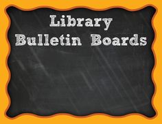 Great library bulletin boards hang out here, on my Pinterest board. Check 'em out! http://www.pinterest.com/cari_young/library-bulletin-boards/