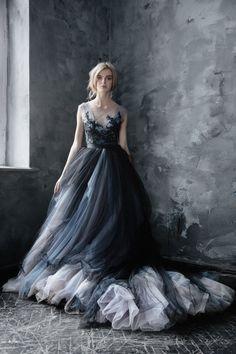Dramatic Black Tulle Wedding Dress Princess Prom Dresses, A Line Prom Dresses, Tulle Prom Dress, Ball Dresses, Ball Gowns, Evening Dresses, Tulle Lace, Beaded Lace, Formal Dresses