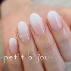 ホワイトグラデーション |―petit bijou―