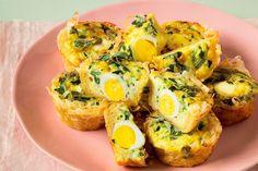 Nidi di pasta fillo con uova di quaglia