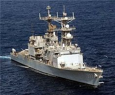 USS Briscoe (DD-977) Spruance-class destroyer named for Admiral Robert Pearce Briscoe USN.