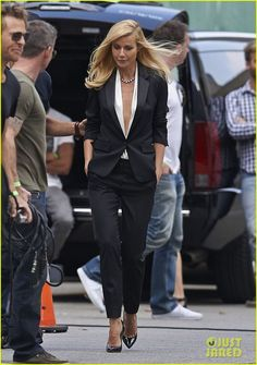 gwyneth paltrow joins instagram gets to work for hugo boss 01 Gwyneth Paltrow wears a blouse with a plunging neckline while filming more scenes for a Hugo Boss commercial on Thursday (October 3) in downtown Los Angeles. …