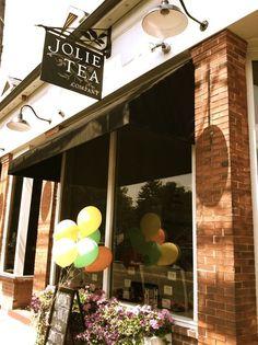 Jolie Tea Company Storefront in Hamilton, MA