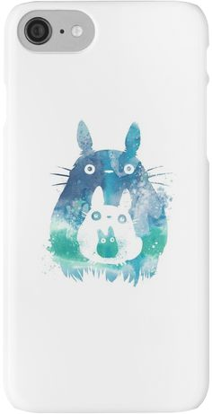 iPhone 7 Case, iPhone 7 Cases -Tonari no Totoro Polycarbonate Hard Case Back Cover For iPhone 7 4.7 inch 3D.