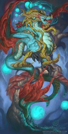 2016 Zodiac Dragons Capricorn by The-SixthLeafClover.deviantart.com on @DeviantArt