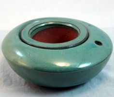 """Low Profile Self Watering Ceramic Pot - Aqua - 6 x 3"""" by Hirts: Pots. $11.99. 6 1/4"""" x 3 1/8"""". Heavy Glazed Ceramic Pot. 1 Pot for the Plant, 1 Pot for the Water. 2 Pots in 1. Great for all house plants. This self-watering pot is the answer to people who do not want to be """"slaves"""" to their plants. The plant is planted in the inner pot and simply keep water in the outer pot, which in turn wicks water to the inner pot and plant as needed. Ideal for plants such as: ..."""