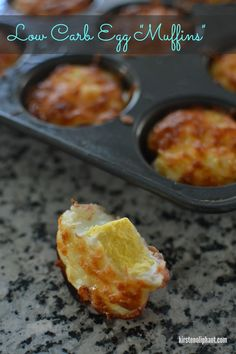 Three ingredient low carb breakfast recipe. Leave off the cheese and it's paleo friendly too!