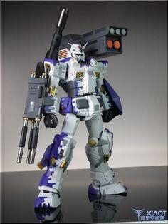 GUNDAM GUY: MG 1/100 FA 78-1B Gundam Full Armor Type-B - Customized Build