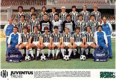 JUVENTUS DE TURIN 1982-83