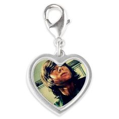 Chandler Riggs Silver Heart Charm