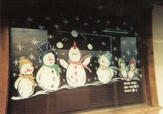 Holiday Window Painting Ideas | christmas window painting - group picture, image by tag ...