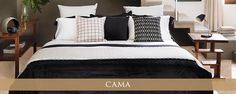 Cama Bed, Furniture, Home Decor, Linen Couch, Outfits Fo, Beds, Homemade Home Decor, Decoration Home, Stream Bed