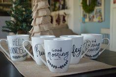 DIY Mug, Christmas gifts, under $5