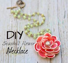 shell crafts :: shell necklace