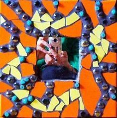 Mirror 1 by Cristina-Mary Buzamet Tigger, Mixed Media, Mary, Wall Art, Mirror, Disney Characters, Mirrors, Mixed Media Art, Wall Decor
