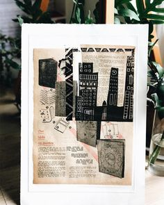 Chinecolle and Linocut print #printmaking #behance #printeresting #dscolor #blockprint #livecolorfully #monoprint #megaprintmakers #carving #inspiremyinstagram #intaglio #makersmovement #workonpaper #artistsoninstagram #lino #linocut #linocutprint #makers #get_imprinted #etching #reliefprint #printspotters #printisnotdead #peopleofprint #print #inkonblock #ukprintmakers #art_we_inspire #inkonpaper