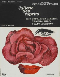 A fabulous poster for JULIET OF THE SPIRITS (1965)