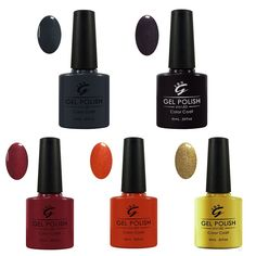 I.B.N UV Gel Nail Polish Professional Manicure Enamel Kit Color Coat Set 5 Pcs >>> Find out more about the great product at the image link.