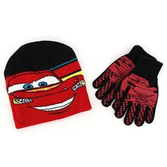 Disney Cars Lightning McQueen Baby Toddlers Winter Bobble Hat