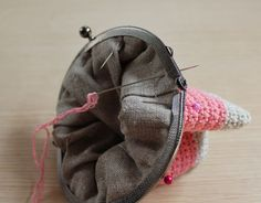 Mis obsesiones de hoy: Tutorial : monedero con boquilla / How to do : crochet purse with frame