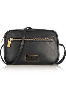Marc by Marc Jacobs Sally textured-leather shoulder bag | NET-A-PORTER