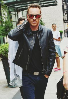 Michael Fassbender in New York City, on August 7, 2014.