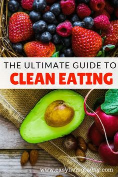 Absolutely the best and ultimate beginners guide to clean eating! Everything from what clean eating is and how to get started to clean eating recipes and meal plans!