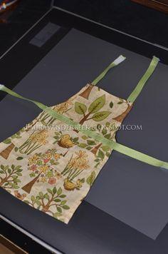 "Homemade 18"" doll apron pattern"