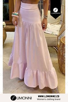 Cute Skirt Outfits, Classy Outfits, Girls Fashion Clothes, Fashion Dresses, Woman Clothing, One Piece Frock, Frocks And Gowns, Long Skirt Fashion, Hot Dress