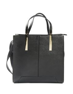 Metal Accented Shopper
