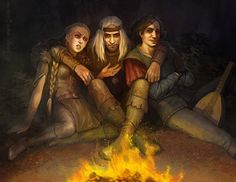 Milva Geralt Dandelion by CG-Warrior.deviantart.com on @deviantART