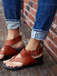 Free People Six Point Wedge Sandal, $148.00
