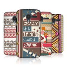 HEAD CASE DESIGNS CRAFT IN LOVE PROTECTIVE BACK CASE COVER FOR MOTOROLA MOTO X $8.45