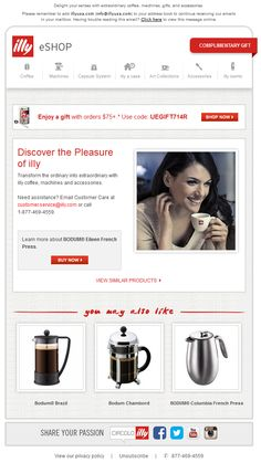 illy Abandon Browse email