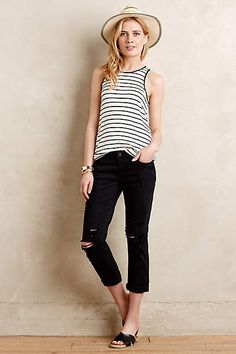 Paige Jimmy Jimmy Crop Jeans - anthropologie.com #Anthrofave