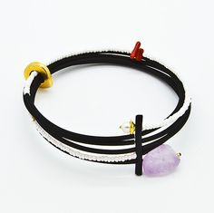 Welcome to Supermandolini™ - Online Boutique Jewelry Bracelets, Jewellery, Stylish Jewelry, Online Boutiques, Spiral, Amethyst, Contemporary, My Style, Leather